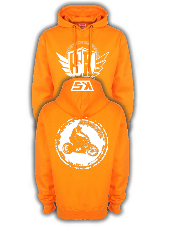 STAHLKRAD FIGHTER Kapuzenpullover orange