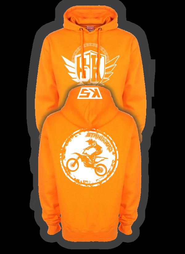 STAHLKRAD CROSS Kapuzenpullover orange