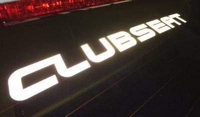 ClubSEAT matrica fényvisszaverős 35cm