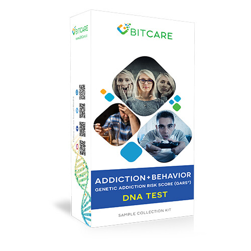 Addiction + Behavior DNA Test Kit