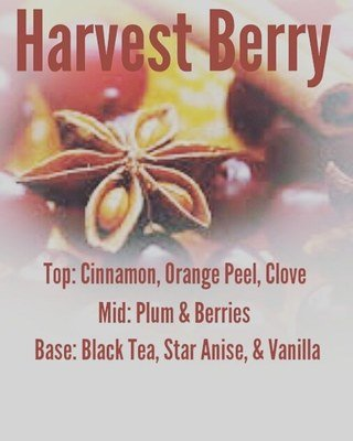 Harvest Berry Cuticle Oil