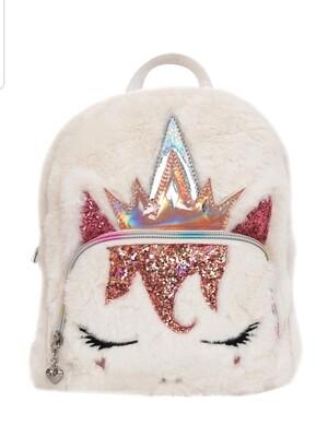 Unicorn Furry Mini Backpack