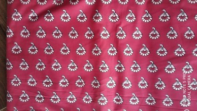 Sanganerjaipur print unstiched suit allover (5mtr) without duptta