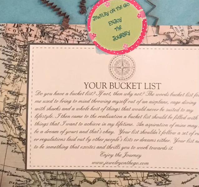 Weekend On The Go Bucket List Gift