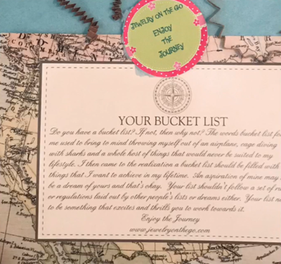 Weekend On The Go Bucket List Gift