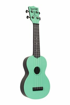 Kala Sea Foam Green Matte Soprano Waterman Ukulele