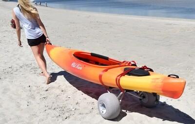 Malone Clipper Universal Kayak Cart (with Balloon Beach Wheels)
