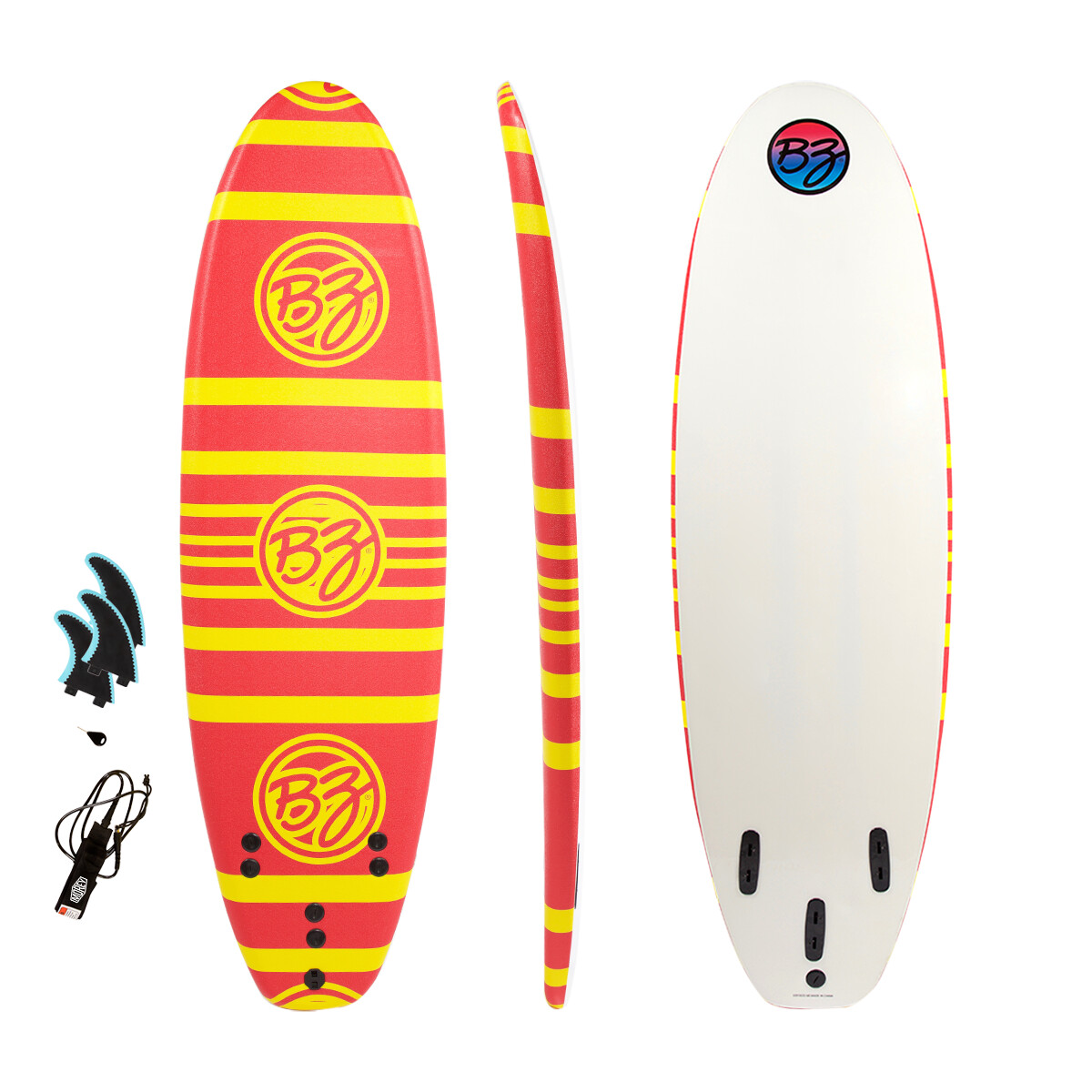 BZ 6' Soft Top Surfboard