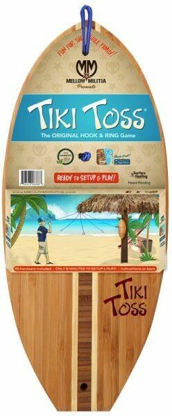 Tiki Toss Hook and Ring Game (Original)