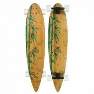 Krown Bamboo Longboard Exotic Pintail