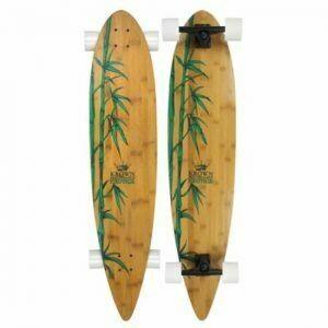 Krown Bamboo Longboard Exotic Pintail