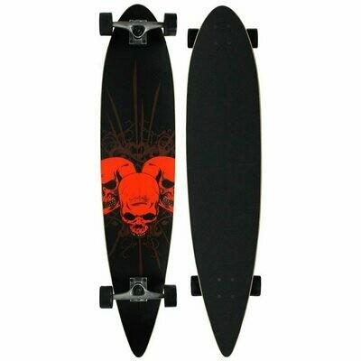 Krown 3 Amigos Pintail Longboard
