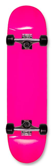 SDS Complete Neon Pink Skateboard