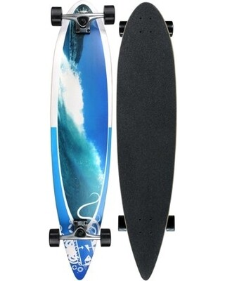 Krown Pintail Longboard Wave Crest
