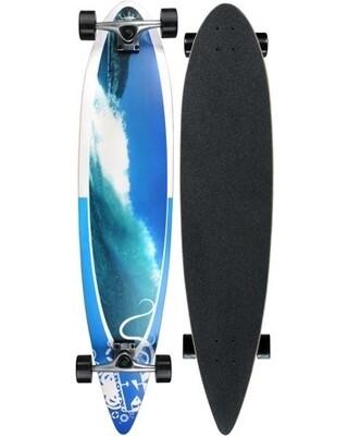 Krown Pintail Longboard Wave Crest