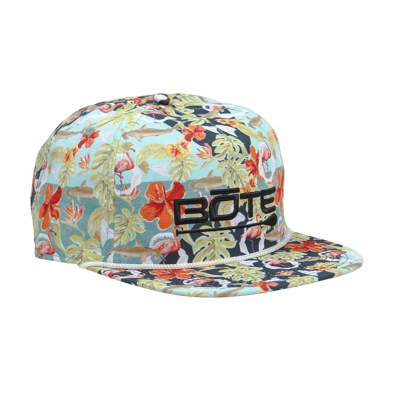 Bote Floral Flat Brim Hat