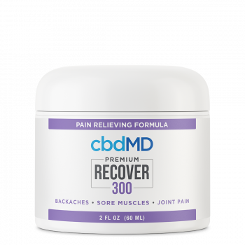 CBD Recover Tub - 300 mg - 2 oz