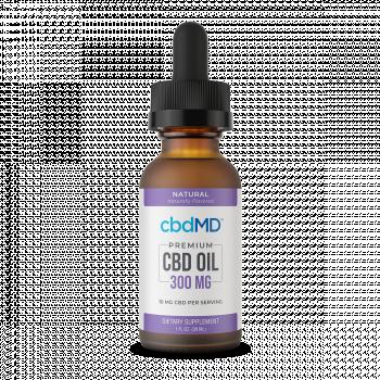 CBD Oil Tincture - Natural - 750 mg - 30 mL