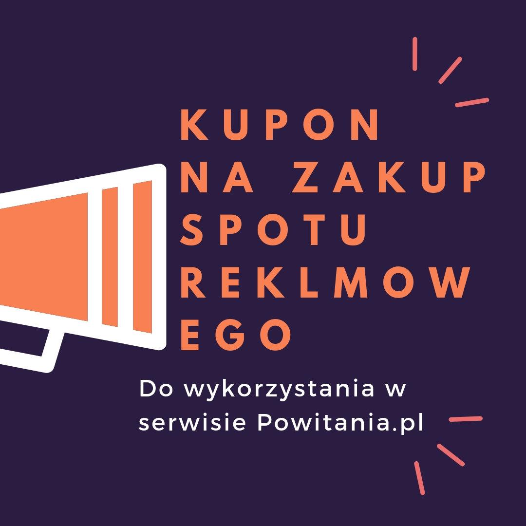Nagranie spotu reklamowego w wykonaniu lektora Ada - Kupon