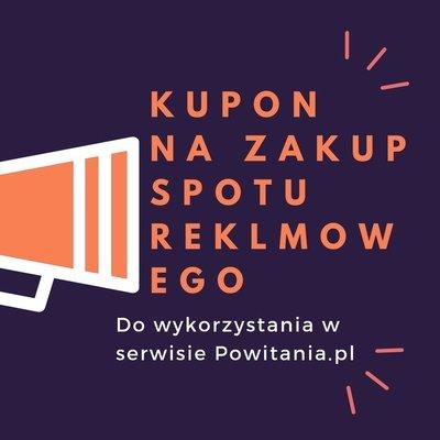 Nagranie spotu reklamowego w wykonaniu lektora David - Kupon