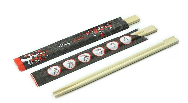 Bamboe eetstokjes 210mm, verpakt per 1200 stuks