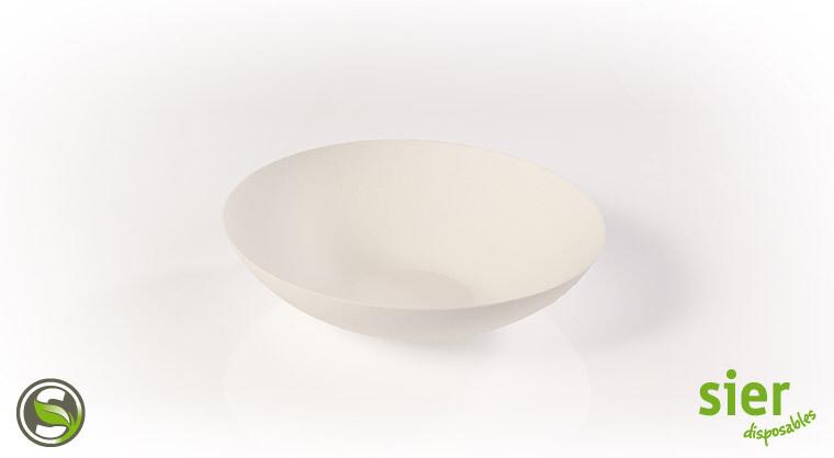 Bagastro diep bord rond 18cm, 20 stuks