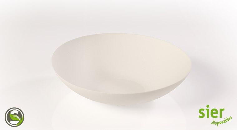 Bagastro diep bord rond 20cm, 240 stuks