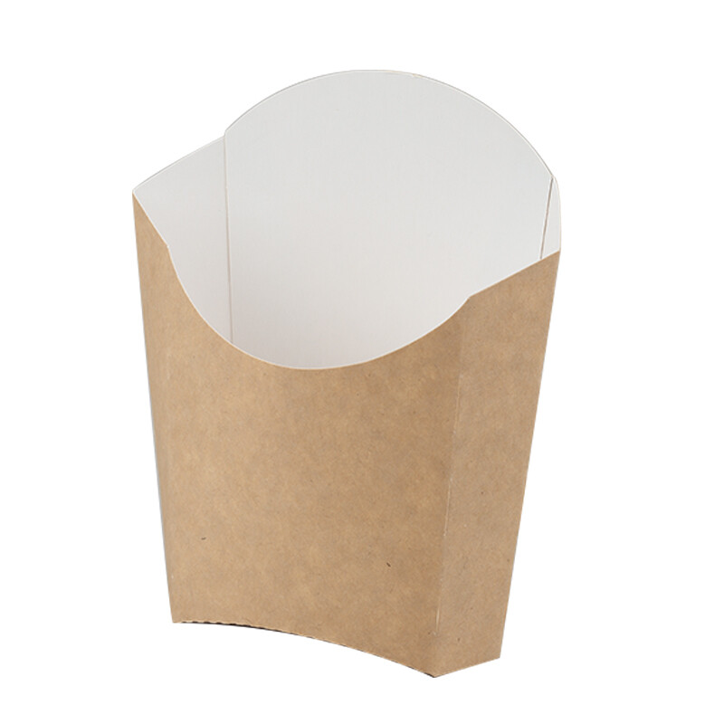 Kraftpapieren franse frietjes box, 1000 stuks