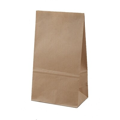 Kraftpapieren blokbodem lunchzak, 3000 stuks