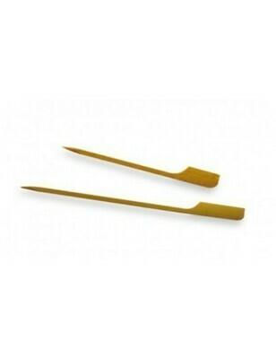 Bamboe golfprikker 90mm verpakt per 100 stuks