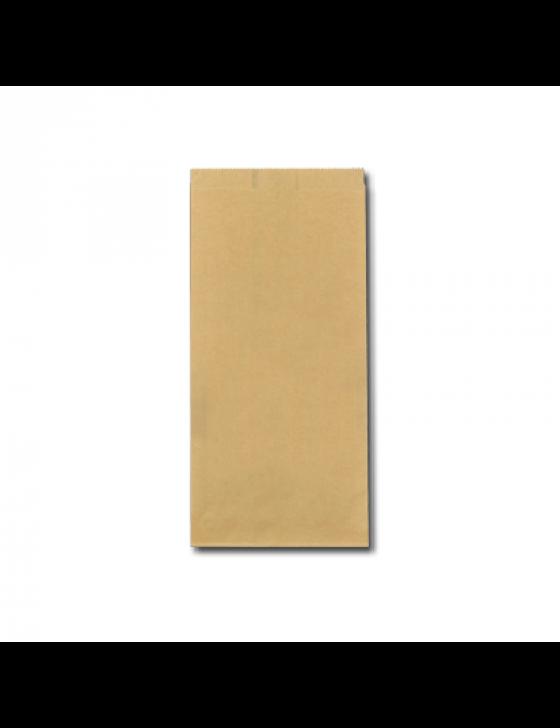 FSC® papieren snackzak 16+10,5x32cm nr.28 (2 pond) ,verpakt per 900 stuks