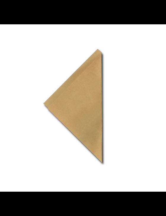 FSC® papieren frietzak K21 bruin, verpakt per 5kg/1000 stuks