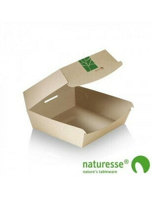 Paperwise hamburgerbox 150x100x70mm Verpakt per 50 stuks