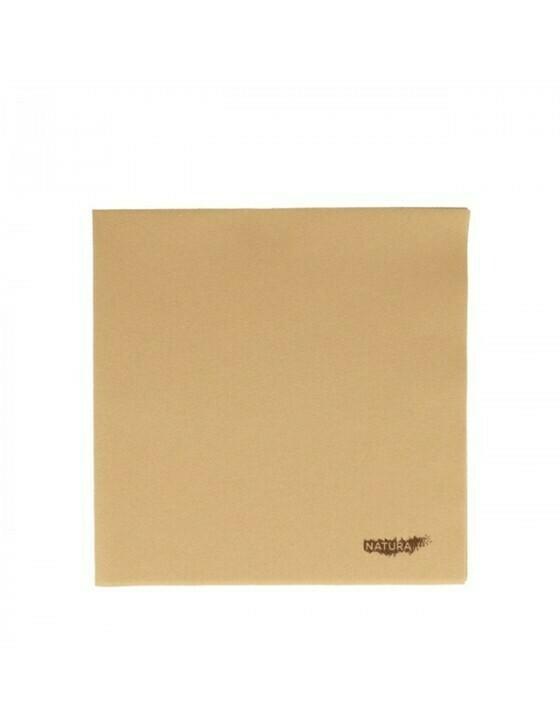 Servet natural 40x40cm ¼ vouw airlaid Verpakt per 50 stuks