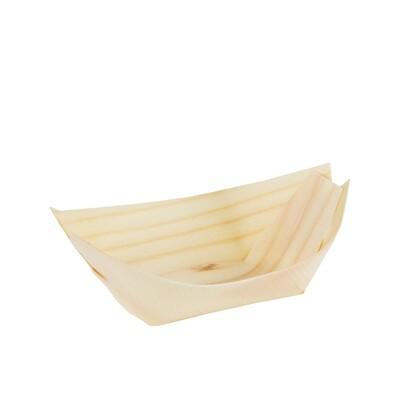 FSC® houten bootje 140x80mm XL Verpakt per 1000 stuks