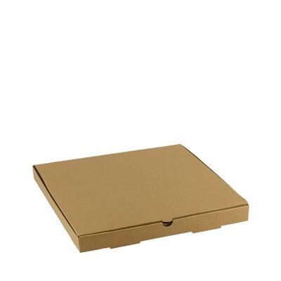 Kraft pizza box 35x35x3,5cm unprinted Packed per 100 pieces