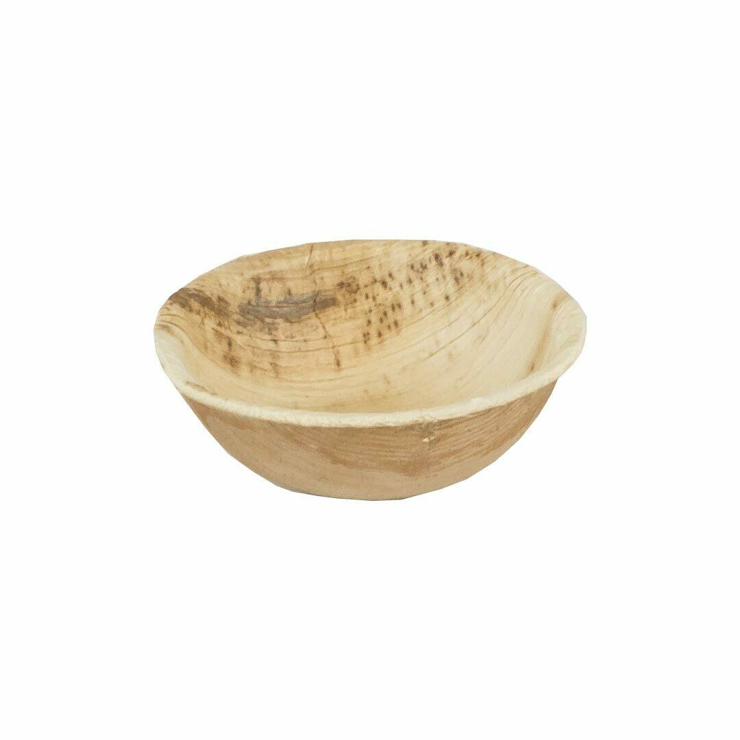 Recipiente para molho de folhas de palmeira 35ml / 6cm Ø Embalado por peças 400