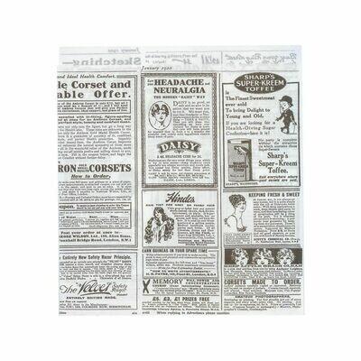 Vetvrij snackzakje krant 17x18cm Verpakt per 500 stuks
