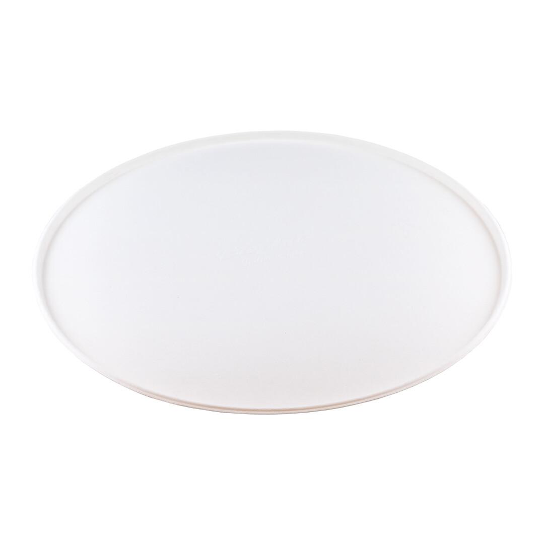 """Bagasse bord 32,5cm Ø """"Pizza"""" Verpakt per 200 stuks"""