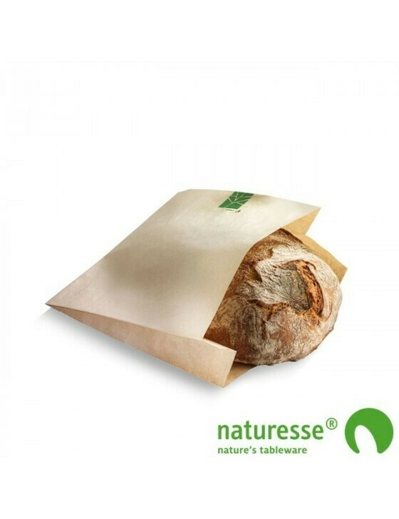 Paperwise broodzakje 240x140x(2x30)mm Verpakt per 500 stuks