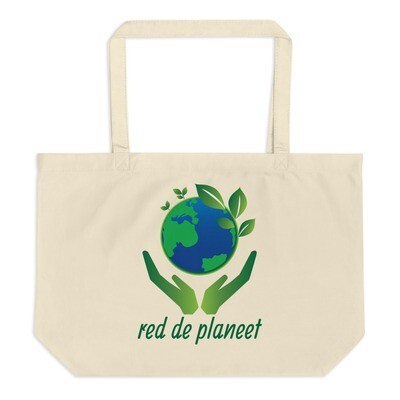 Eco jute carrying bag large