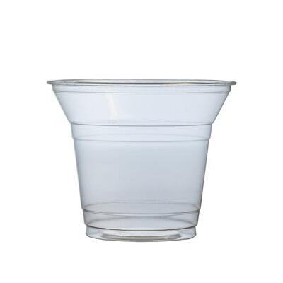 PLA salade shaker 200ml/96mm Ø, verpakt per 50 stuks