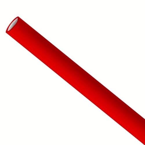 Rietjes 6x200mm rood, verpakt per 5000 stuks
