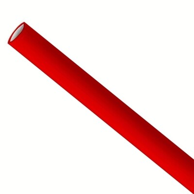 Straws 6x200mm red, packed per 5000 pieces