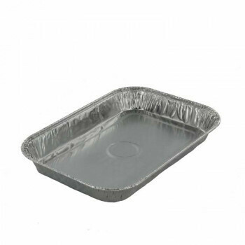 Gastronoom tray, Aluminium | 3000ml |36,5x32.5x5cm, verpakt per 100 stuks