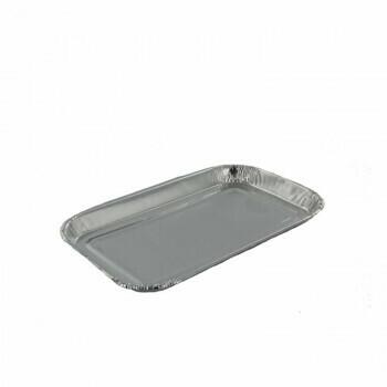 Aluminium schalen   95ml- 15,3x9,3cm, verpakt per 1000 stuks