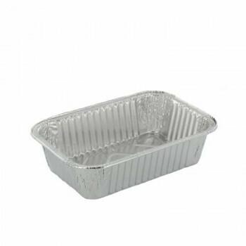 Bak, Aluminium | 440ml- 16x11x3,9cm, verpakt per 1000 stuks