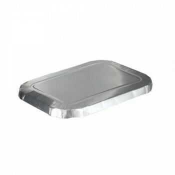 Deksels (voor menubak), Aluminium | 16x11cm, verpakt per 1000 stuks
