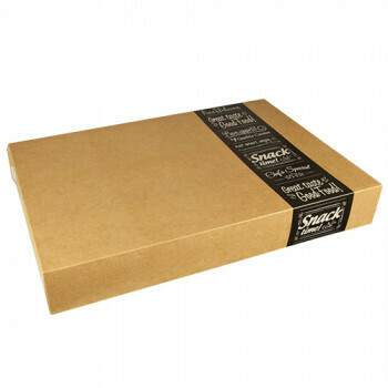 Cateringdozen groot (Good Food) | 55,7 cm x 37,6 cm x 8 cm,Verpakt per 40 stuks