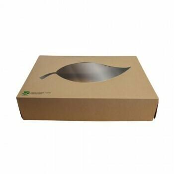 Cateringdozen, maat M (100% FAIR), Karton | 357x247x80mm,Verpakt per 100 stuks